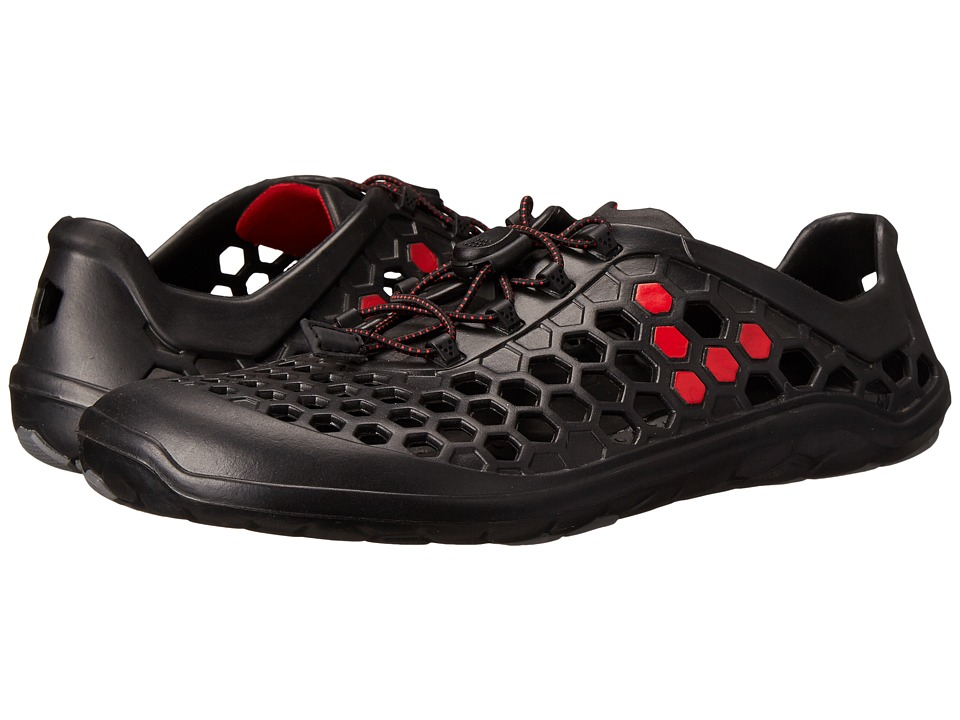 Vivobarefoot Ultra II Black/Red Mens Shoes