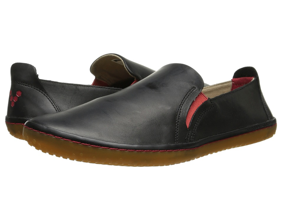 Vivobarefoot Mata Black Leather Mens Shoes