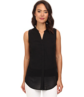 Brigitte Bailey - Sleeveless Button-Down Blouse