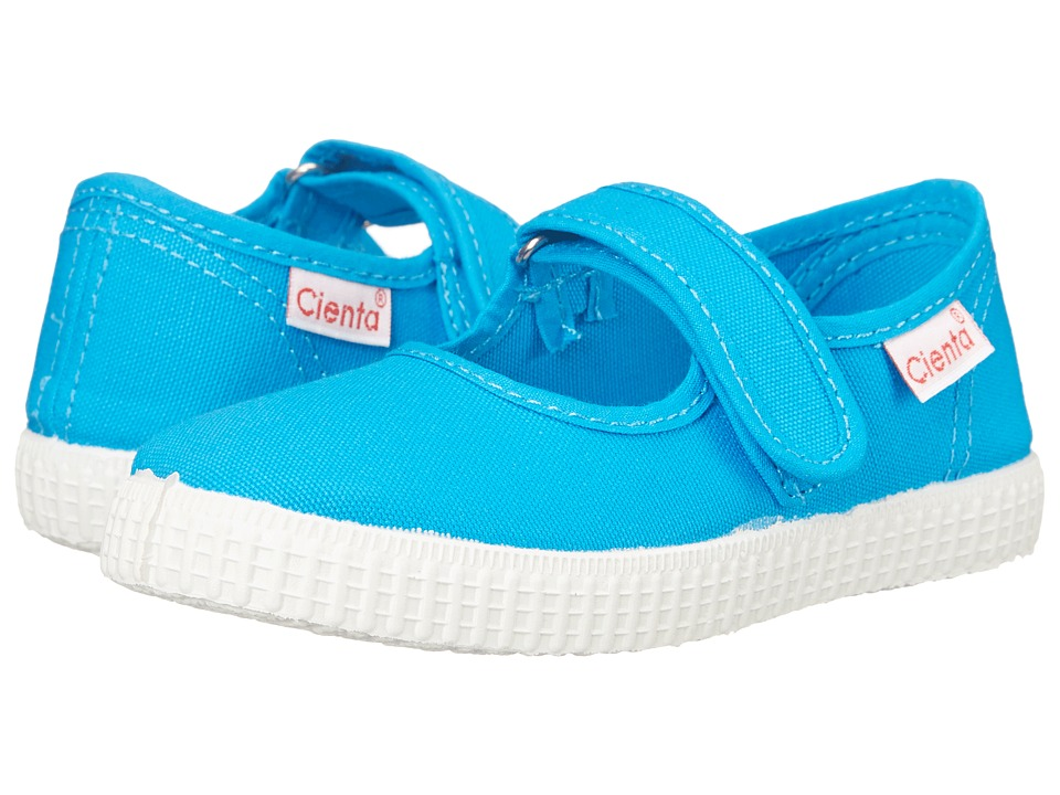 Cienta Kids Shoes 56000 Infant/Toddler/Little Kid/Big Kid Turquoise Girls Shoes