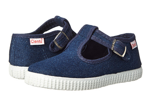 Cienta Kids Shoes 51000 (Infant/Toddler/Little Kid/Big Kid) - Denim