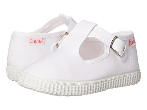 Cienta Kids Shoes 51000 (Infant/Toddler/Little Kid/Big Kid) - White