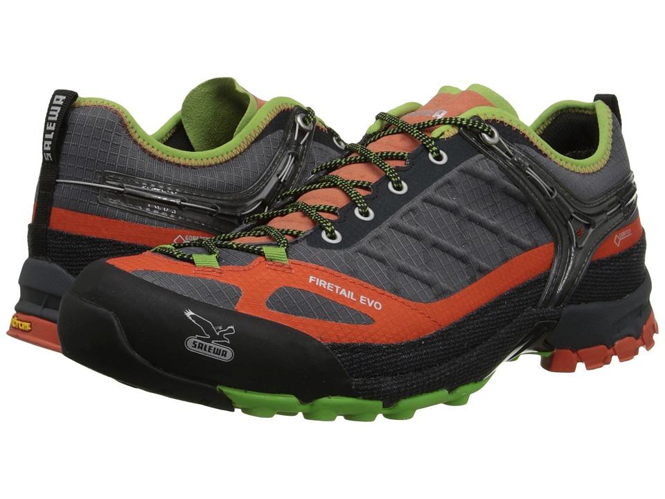 SALEWA Firetail Evo GTX Smoke/Grenatine Mens Shoes