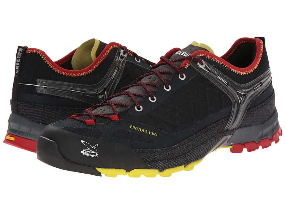 SALEWA Firetail Evo Black/Citro Mens Shoes