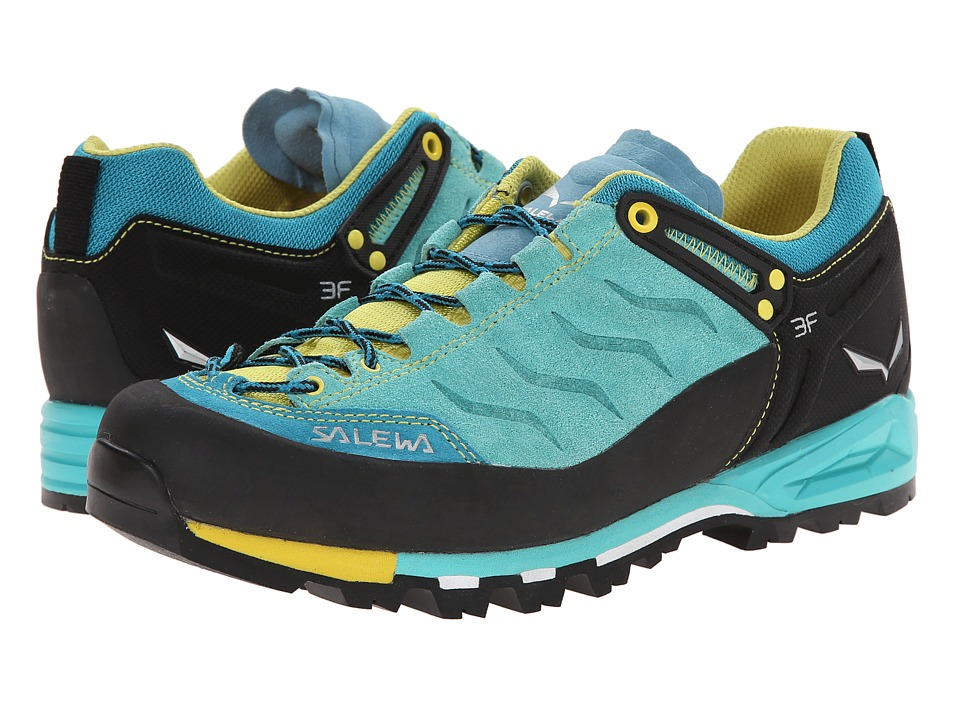 SALEWA Mountain Trainer Bright Acqua/Mimosa Womens Shoes