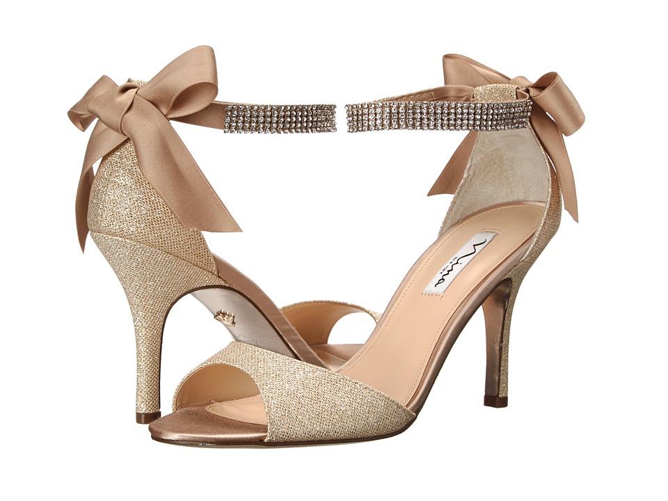Nina Vinnie (Champagne/Royal Gold) High Heels