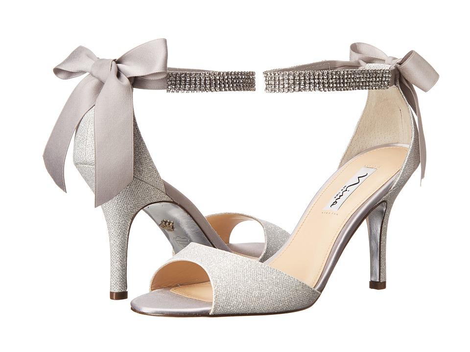 Nina Vinnie (Silver/Silver) High Heels