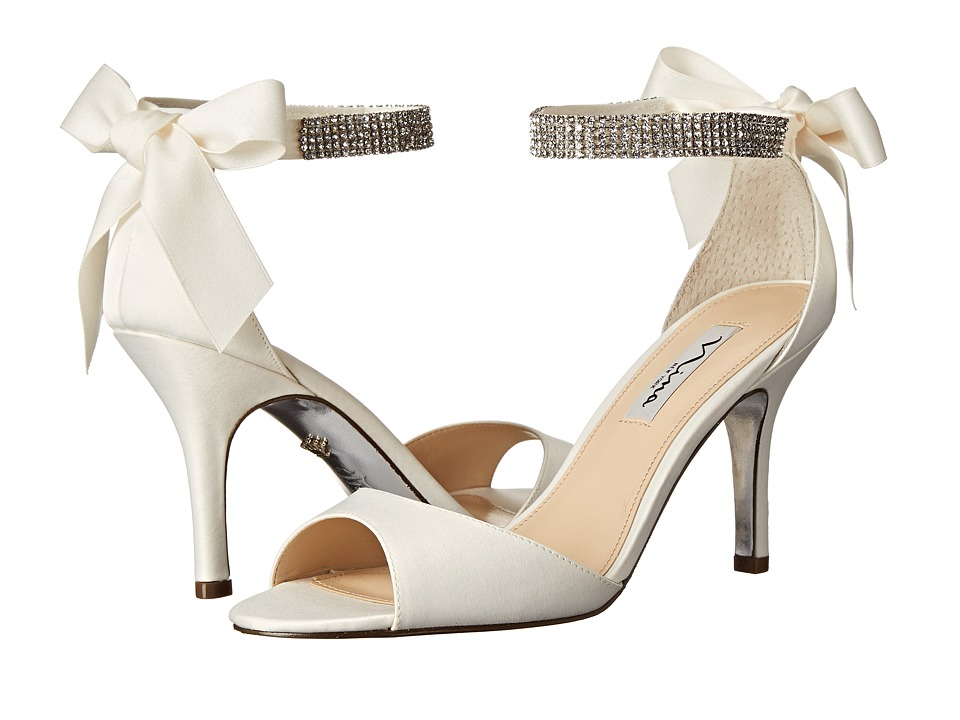 Nina-Vinnie  (Ivory) High Heels