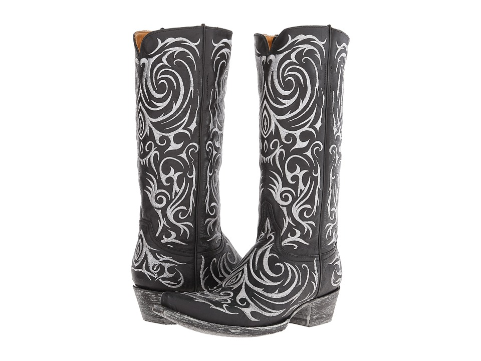 Old Gringo Madona (Black) Cowboy Boots