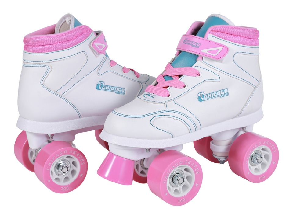 Chicago Skates Sidewalk Skate Little Kid/Big Kid White Womens Shoes