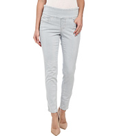 Jag Jeans - Amelia Pull-On Slim Ankle Engineer Stripe in Bleached Indigo