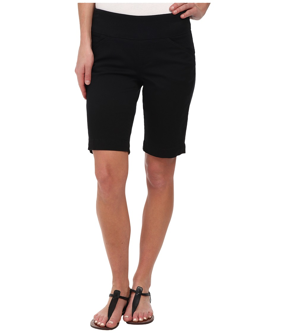 Jag Jeans Ainsley Bermuda Classic Fit Bay Twill Black Womens Shorts