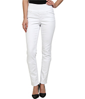 Jag Jeans - Gina Pull-On Slim Leg in White