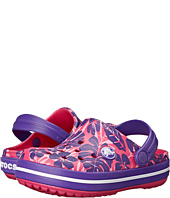 Crocs Kids - Crocband Tropical Print Clog (Toddler/Little Kid)