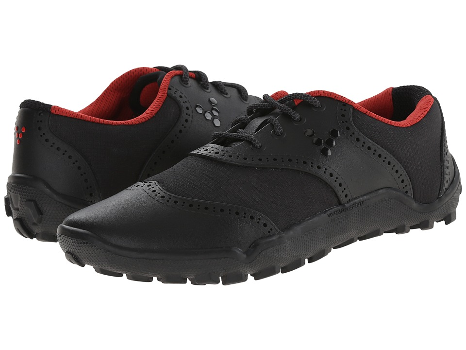 Vivobarefoot Linx Black/Red Womens Golf Shoes