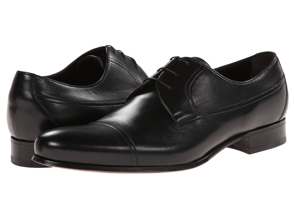 a. testoni - Nappa Lace Up Oxford Cap Toe