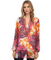 Hale Bob - Palm Play Beaded Tunic