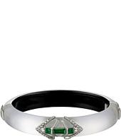 Alexis Bittar - Emerald Crystal Baguette Hinge Bracelet