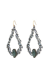 Alexis Bittar - Irregular Tear w/ Fancy Blue Sapphire Crystal Pyrite Doublets Earrings