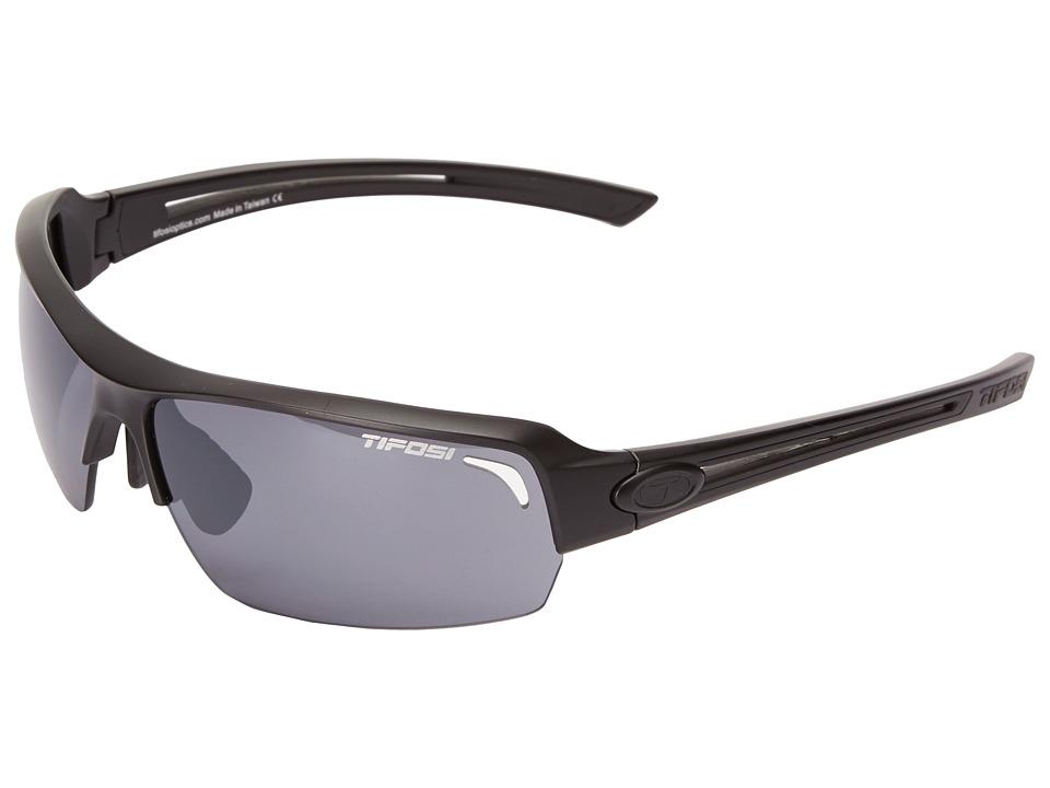 Image of Tifosi Optics Just (Matte Black) Athletic Performance Sport Sunglasses