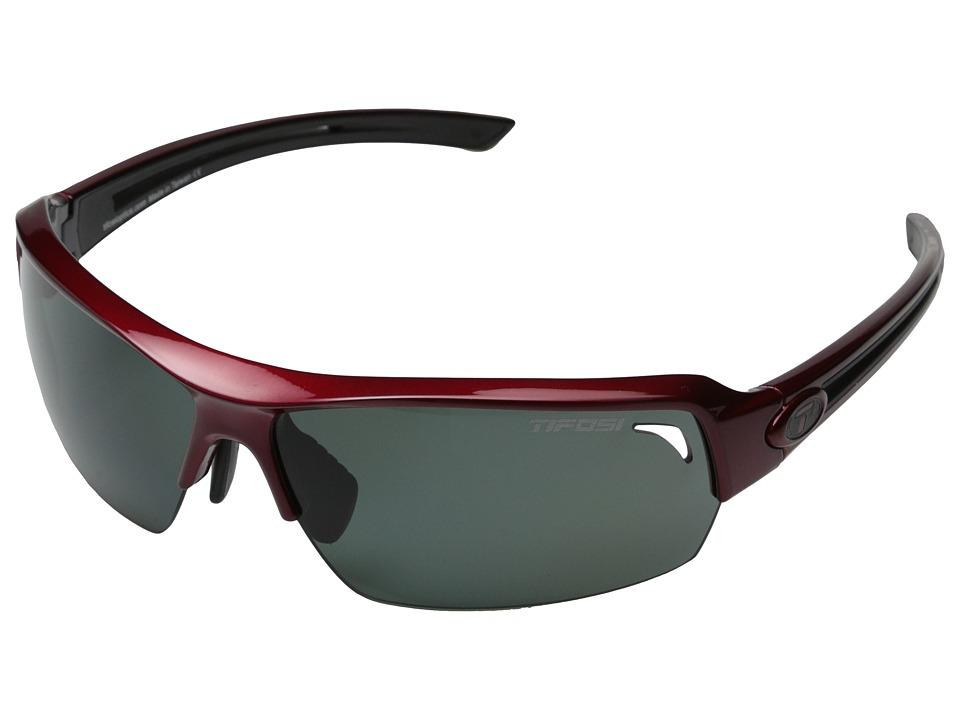 Tifosi Optics Just Polarized (Metallic Red) Polarized Sport Sunglasses