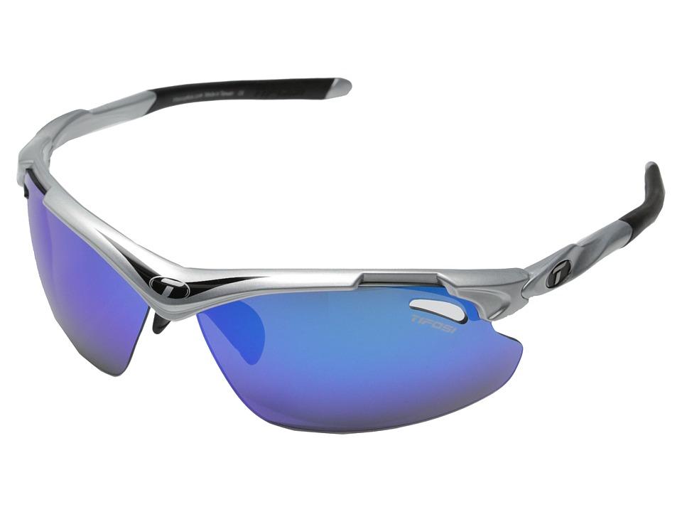 Tifosi Optics Tyranttm 2.0 Polarized (Race Black) Athletic Performance Sport Sunglasses
