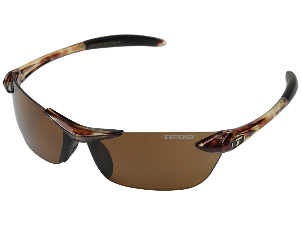 Tifosi Optics - Seektm Polarized (Tortoise) Athletic Performance Sport Sunglasses