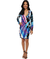 Hale Bob - Modern Animal Faux Wrap Dress
