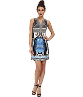 Hale Bob - Spring In The City Signature Dress with Chain Lace Up