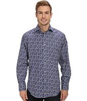 Thomas Dean & Co. - Paisley Print L/S Woven Shirt