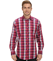 Thomas Dean & Co. - Ombre Check L/S Woven Shirt