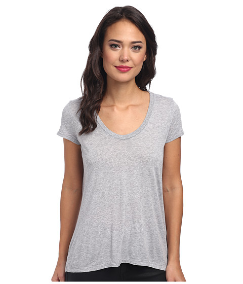 Splendid - New Basic Tee (Grey) Women's T Shirt