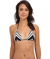 Vitamin A Swimwear - Natalie Miter Stripe Halter