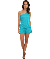 Vitamin A Swimwear - Lola One Shoulder Romper Cover-Up