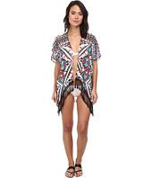 BECCA by Rebecca Virtue - Aztec Chiffon Kimono Cover-Up
