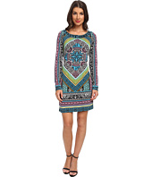 Hale Bob - Graphic Edge L/S Boatneck Dress