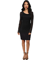 Hale Bob - Exotic Lines Jersey Stretch Jacquard Dress