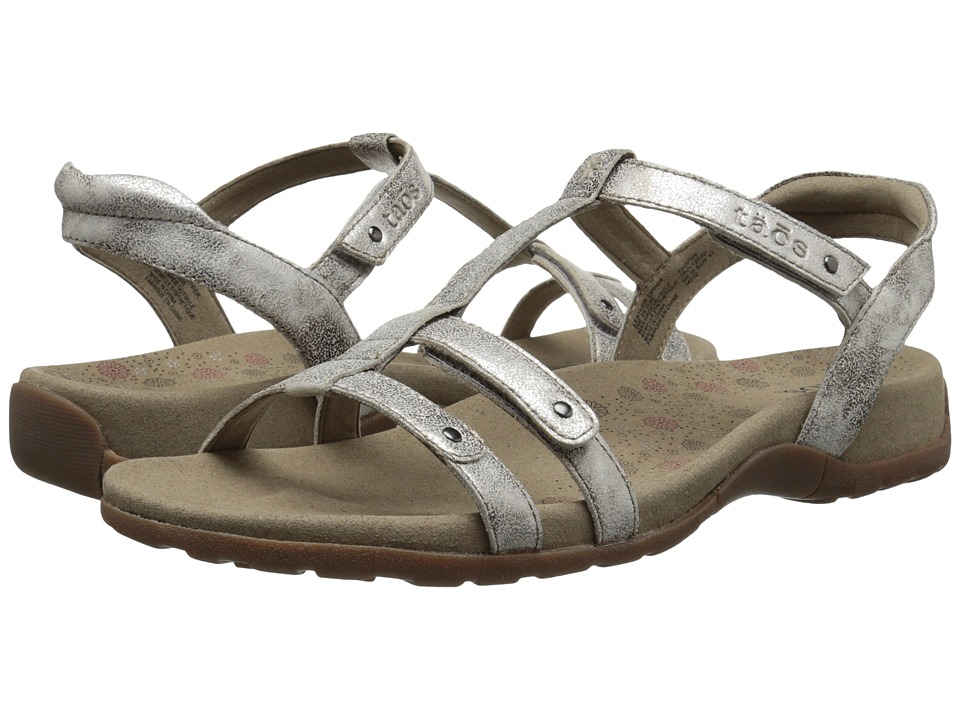 Taos Footwear - Trophy (Vintage Silver) Womens Sandals