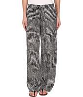 Calvin Klein - Print Wide Leg Woven Pant