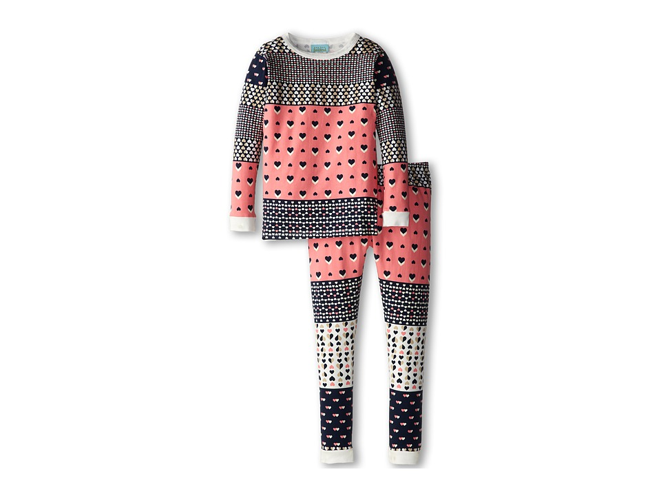BedHead Kids Snug Fit Long Sleeve Classic PJ (Toddler/Little Kids) (Hearts Galore) Girl's Pajama Sets