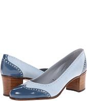 Gravati - Calf Leather Chunky Heel Wing Tip