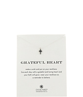 Dogeared - Grateful Heart Cross Reminder Necklace