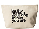 Dogeared Be The Person Your Dog Thinks You Are Lil' Zip (Canvas)