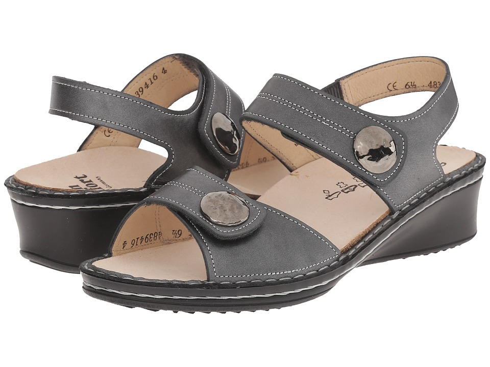 Finn Comfort - Alanya (Pewter) Women's Sandals