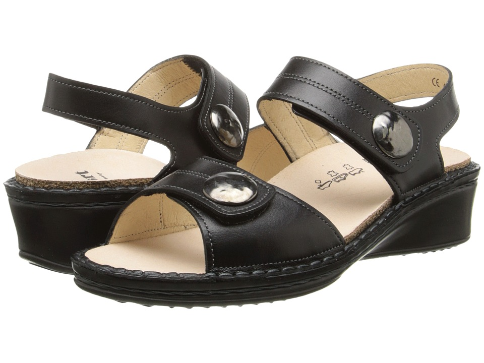 Finn Comfort Alanya Black Womens Sandals