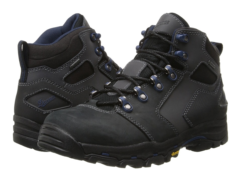 Danner - Vicious 4.5 (Black/Blue) Mens Work Boots