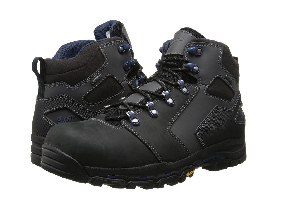 Danner - Vicious 4.5 Non-Metallic Safety Toe (Black/Blue) Mens Work Boots