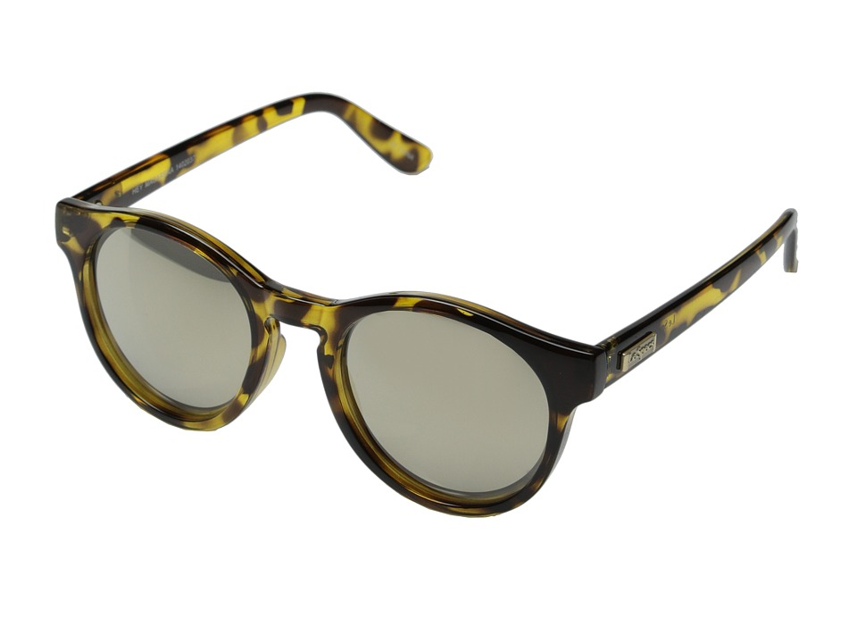 Le Specs Hey Macarena Syrup Tort/Gold Revo Mirror Fashion Sunglasses