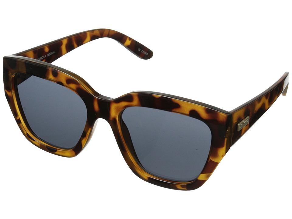 Le Specs Hermosa Milky Tort/Smoke Mono Lens Fashion Sunglasses