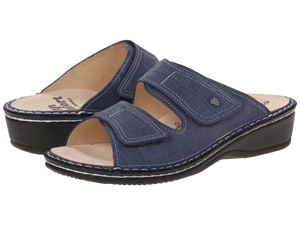 Finn Comfort Jamaika S Blue Womens Sandals
